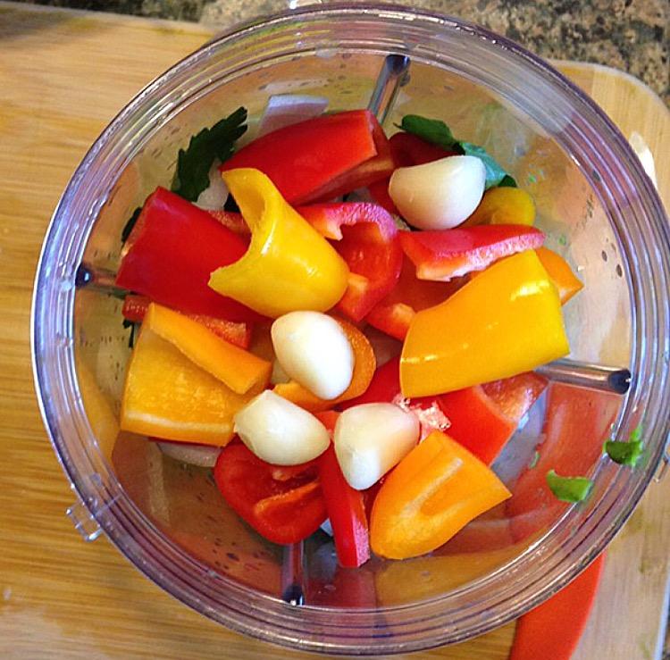 Garlic peppers