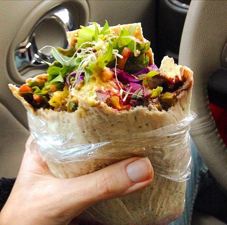 roasted-veggie-wrap